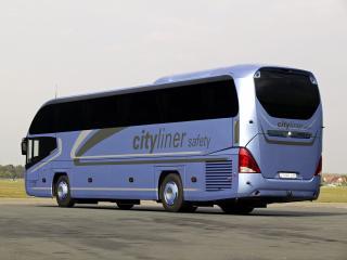 обои Neoplan Cityliner HD синий сбоку фото