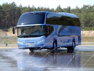 обои Neoplan Cityliner HD синий спереди фото