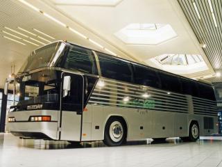 обои Neoplan Cityliner Platinum Edition сбоку фото