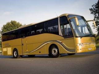 обои Berkhof Axial-70 Cruiser UK-spec золотой фото