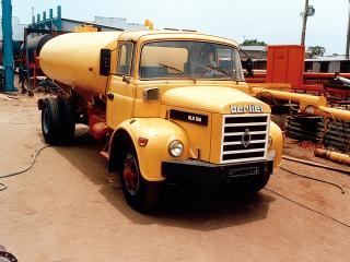 обои Berliet GLR 160 желтый фото
