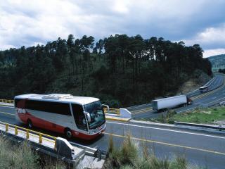 обои Busscar Vissta Buss дорога фото