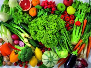 обои Яркие овощи фото