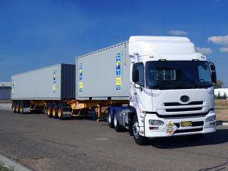 обои UD Trucks Quon GW Tractor мощный фото