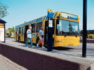 обои для рабочего стола: Saffle Volvo B10L желтый