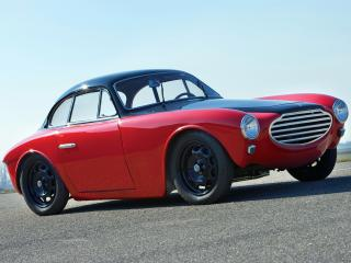 обои Moretti 750 Gran Sport Berlinetta by Michelotti сбоку фото