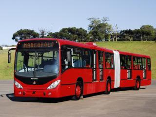 обои Marcopolo Gran Viale Articulated красный фото