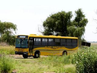 обои Marcopolo Scania F94 Torino желтый фото