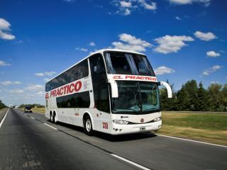 обои для рабочего стола: Marcopolo Scania K380 Paradiso 1800 DD 6x2 дорога