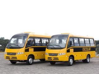 обои Marcopolo Volare V8L Escolar желтые фото