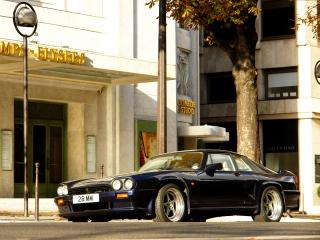 обои Jaguar XJS 6.0 Lister Coupe передок фото