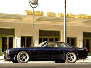 обои Jaguar XJS 6.0 Lister Coupe сбоку фото