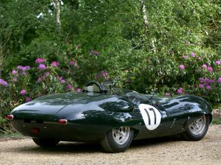 обои Lister-Jaguar Costin Roadster боком фото