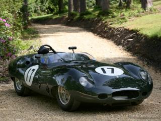 обои Lister-Jaguar Costin Roadster зеленая фото
