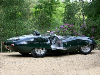 обои Lister-Jaguar Costin Roadster открыта дверь фото