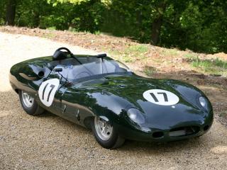 обои Lister-Jaguar Costin Roadster перед фото
