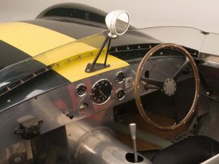 обои Lister-Jaguar Costin Roadster руль фото