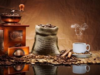 обои Кофе зерна фото