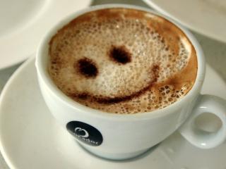 обои Кофе смайл фото