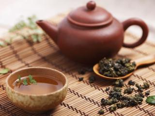 обои Чайник с чаем фото