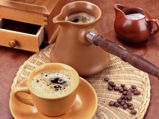 обои Турка с кофе фото