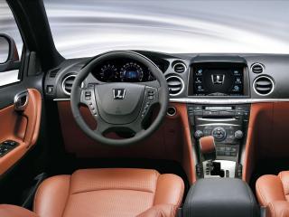 обои Luxgen 7 CEO руль фото