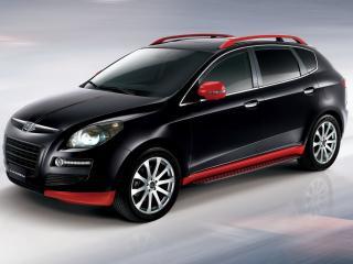 обои Luxgen 7 SUV Sport+ сбоку фото