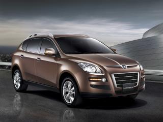 обои Luxgen 7 SUV коричневый фото