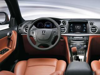 обои Luxgen 7 SUV руль фото