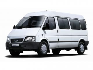 обои JMC Ford Transit LWB (IV) белый фото