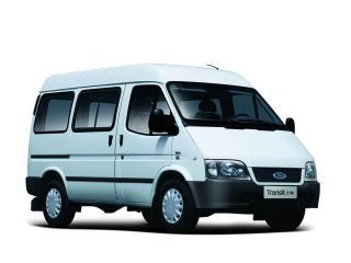 обои JMC Ford Transit SWB (IV) белый фото
