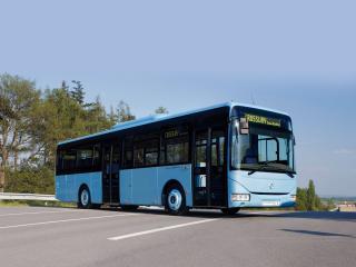 обои Irisbus Crossway LE голубой фото