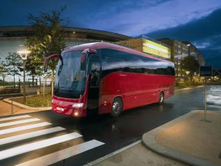 обои Irisbus Domino красный фото