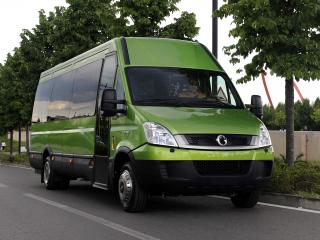 обои Irisbus EcoDaily зеленый фото