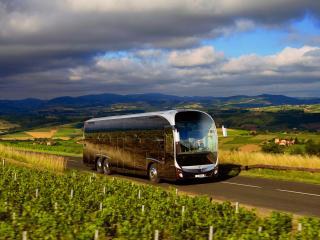 обои Irisbus Magelys HDH дорога фото