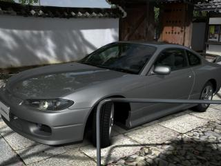 обои Silvia spec-r  в японии фото