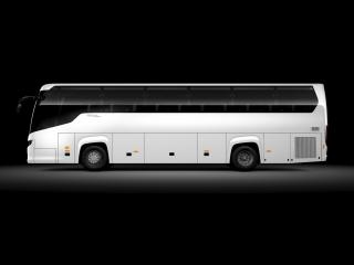 обои Higer Scania Touring 4x2 бок фото