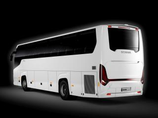 обои Higer Scania Touring 4x2 зад фото