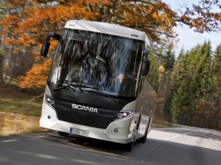 обои Higer Scania Touring 4x2 сила фото