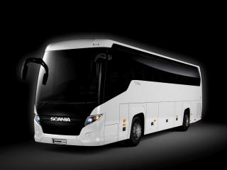 обои Higer Scania Touring 4x2 темнота фото
