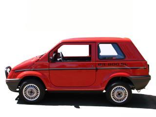 обои Gurgel BR-800 SL красный фото