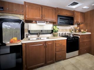обои Fleetwood Bounder кухня фото
