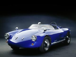 обои Enzmann 506 Spyder синий фото