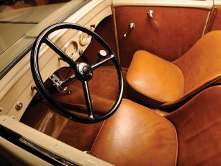 обои American Bantam Convertible Coupe руль фото