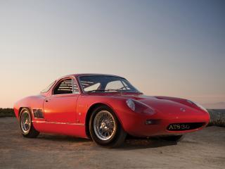 обои ATS 2500 GT красный сбоку фото