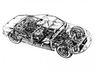 обои ATS 2500 GT эскиз фото