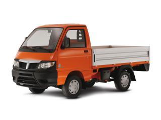 обои Piaggio Porter Tipper оранжевый фото