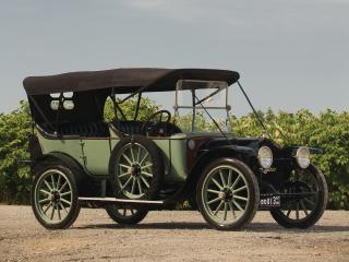 обои 1913 Rambler Model 83 Cross Country Touring зеленая фото