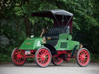 обои Rambler Model E Runabout зеленая фото