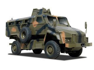 обои BMC 4x4 MRAP сбоку фото